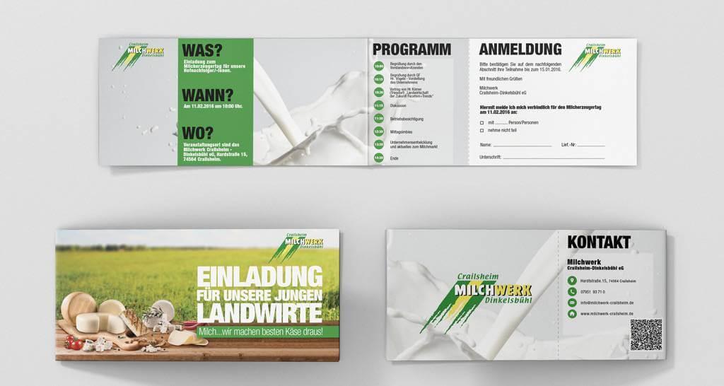 Milchwerk Crailsheim-Dinkelsbühl e.G. - Einladung